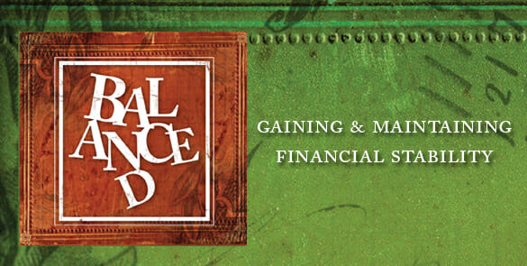 balance01 Balanced Finance by Andy Stanley Pt. 3: Back In The Black