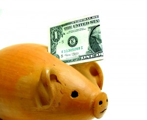 Dollar Money Piggy Bank Save Money 300x246 Dividend Aristocrat Ex Div Dates and a Carnival