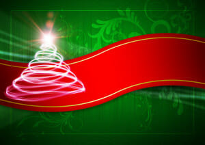 Christmas Tree Red Green 300x212 Merry Christmas 2011!