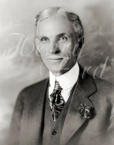 Henry ford 1919 235x300 Typographer Invented, Ford Sells First Car and a Roundup