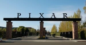 Entrance to Pixar