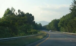 North Carolina Road Mountains
