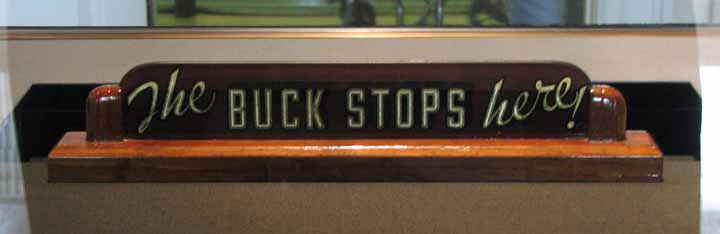 the-buck-stops-here