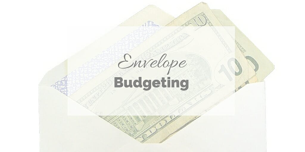Envelope Budgeting - Envelope with money in it.