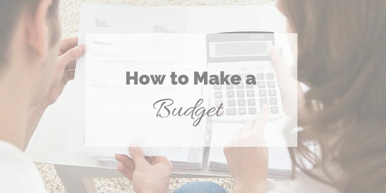 How to make a budget title image