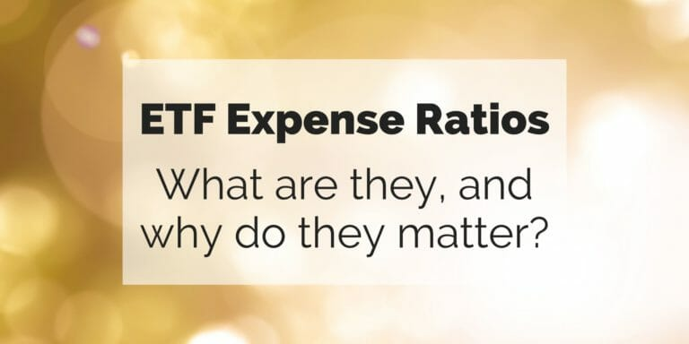 ETF Expense Ratios: What are they and why do they matter?
