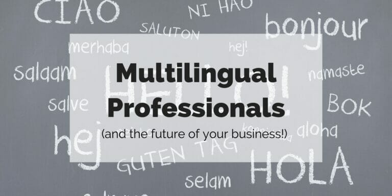 featured image for multilingual professionals article