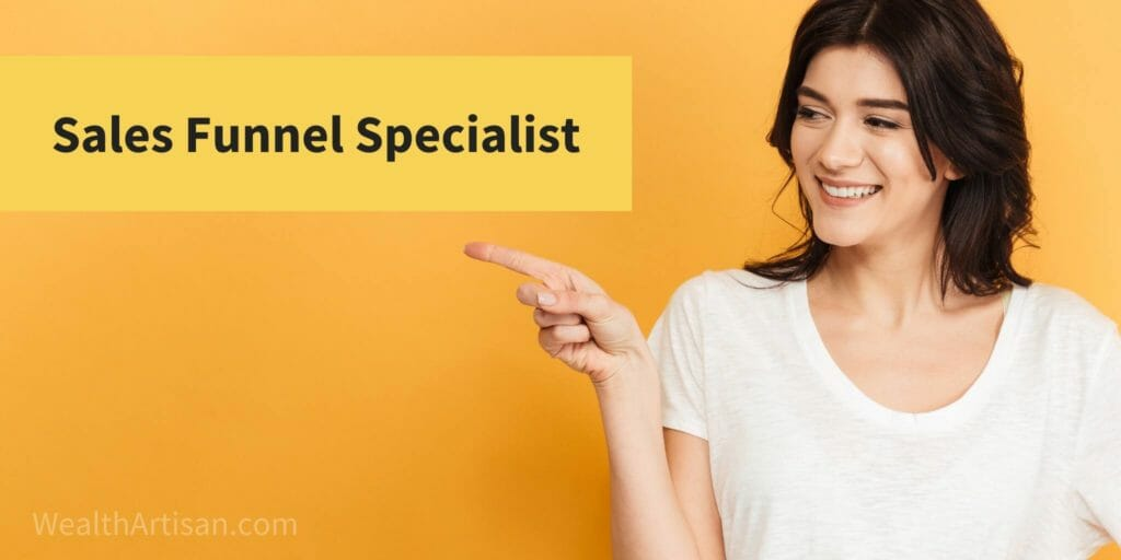 side hustle: sales funnel specialist