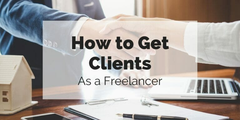 client and freelancer shaking hands