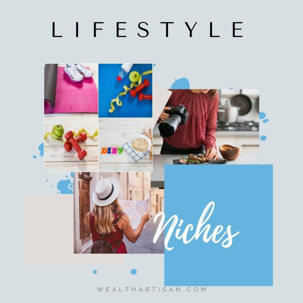 different lifestyle niches