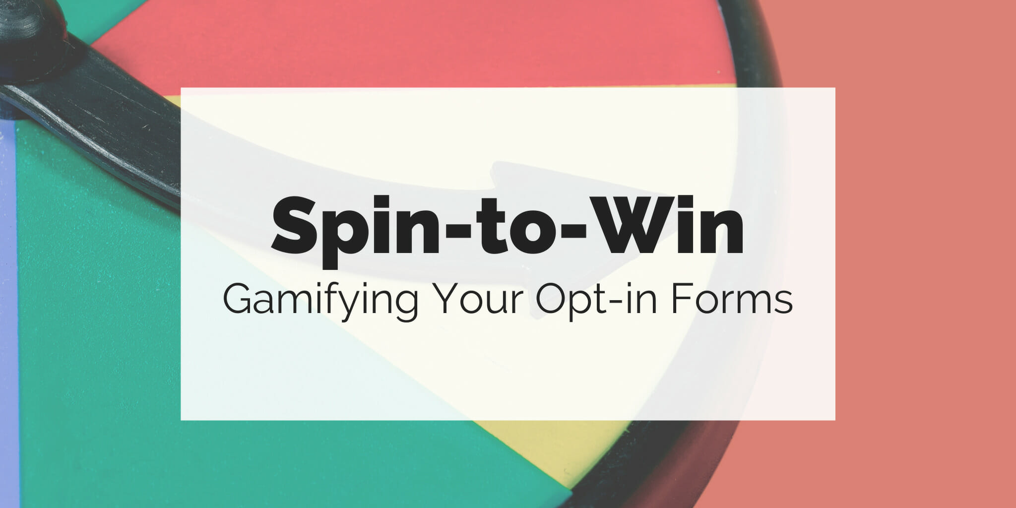 "Adding ""spin-to-win"" gamification to your website"