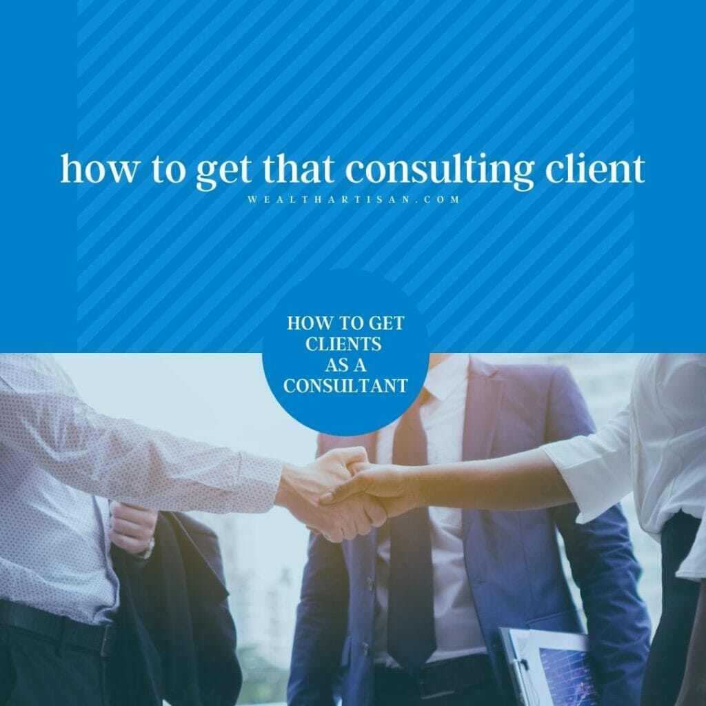 how to get a client