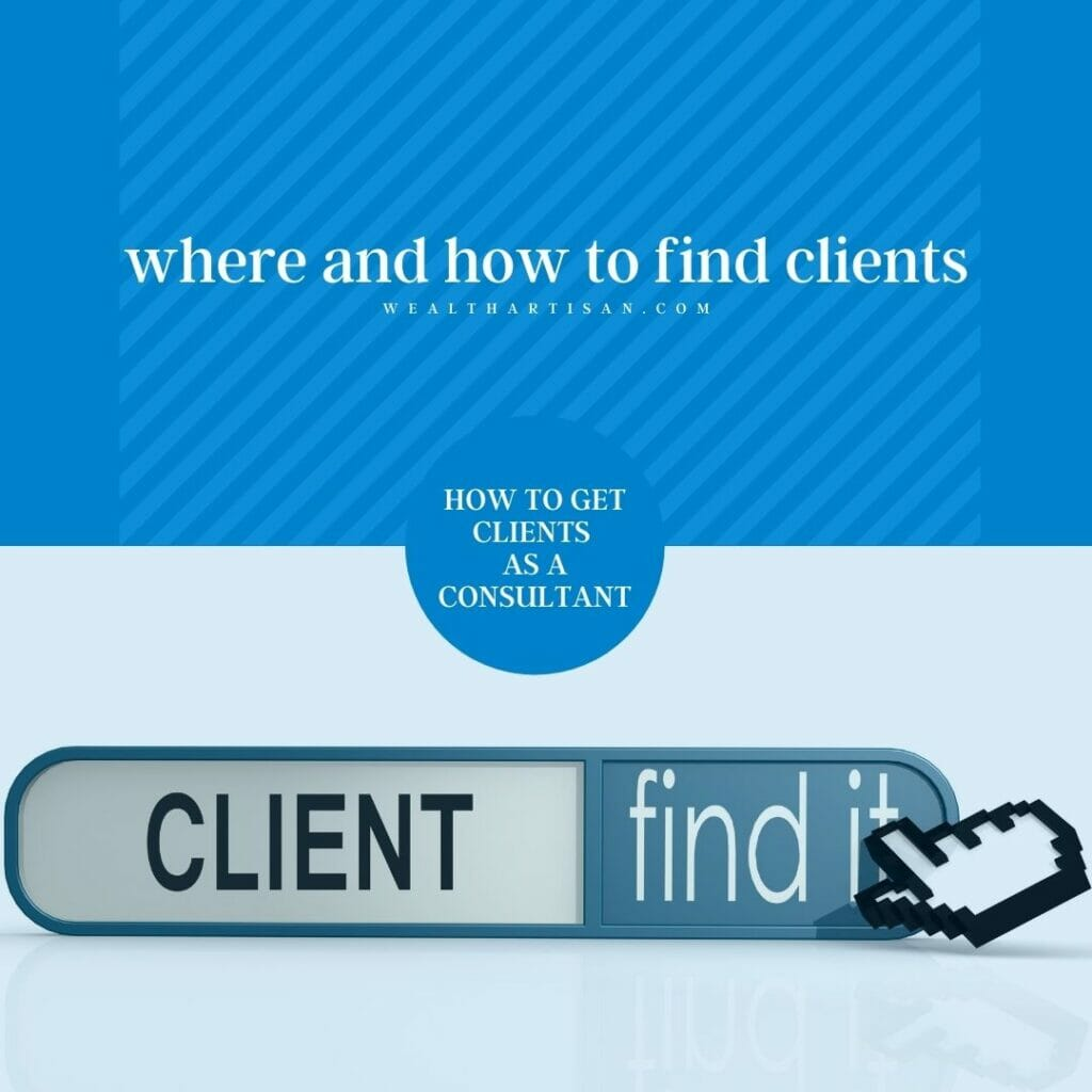 where and how to find clients