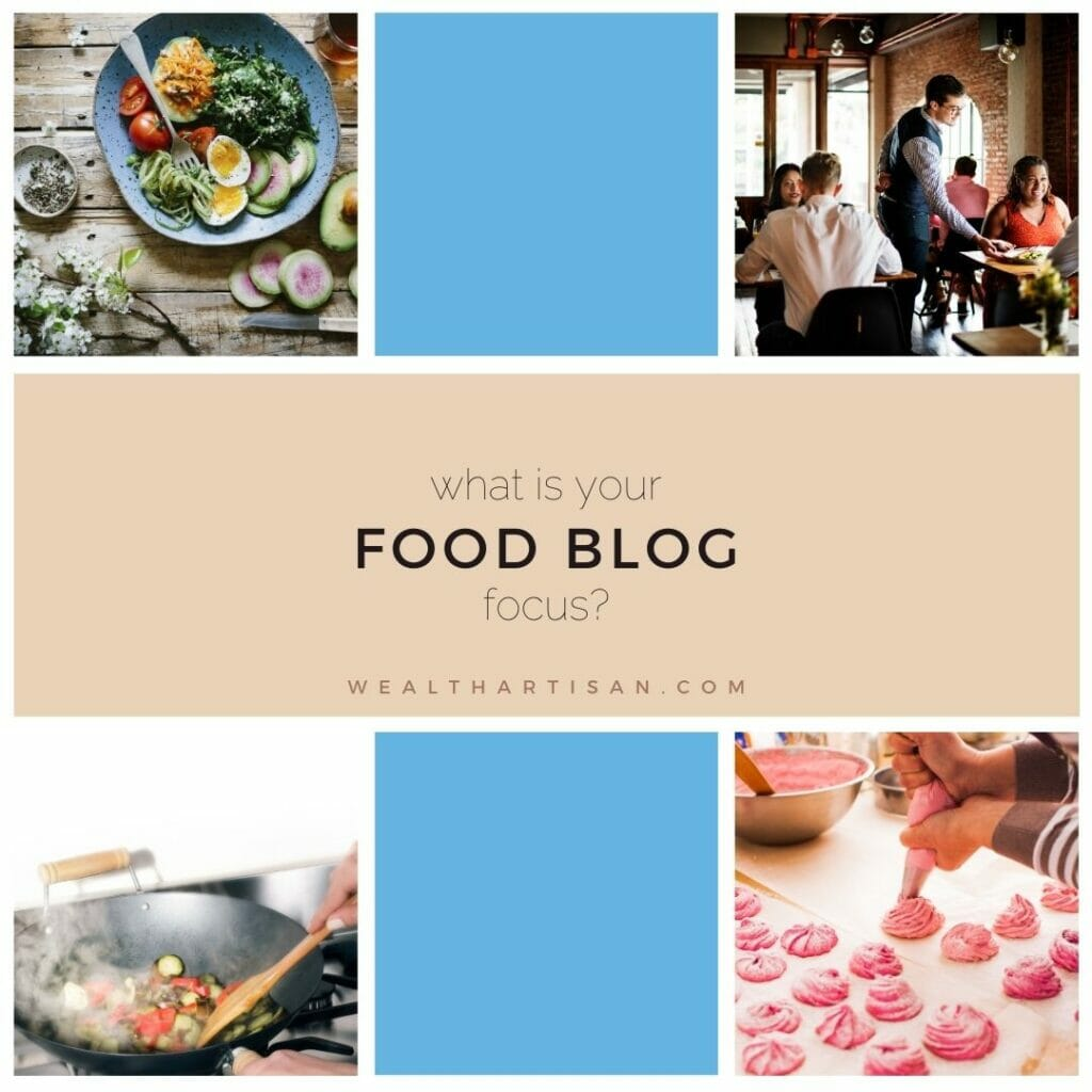 how to name your food blog: identify your focus
